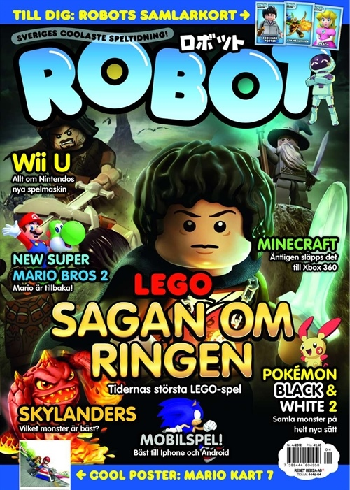 ROBOT Issue 4 - 2012 (Swedish Edition)