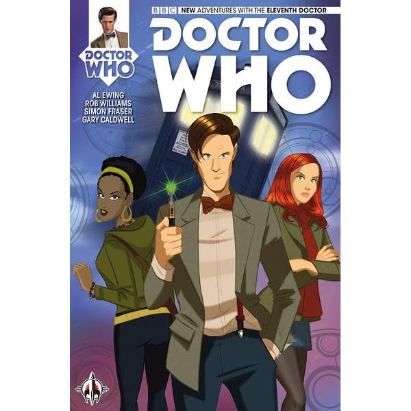 Doctor Who - Eleventh Doctor #1 -  Des Taylor Variant Cover