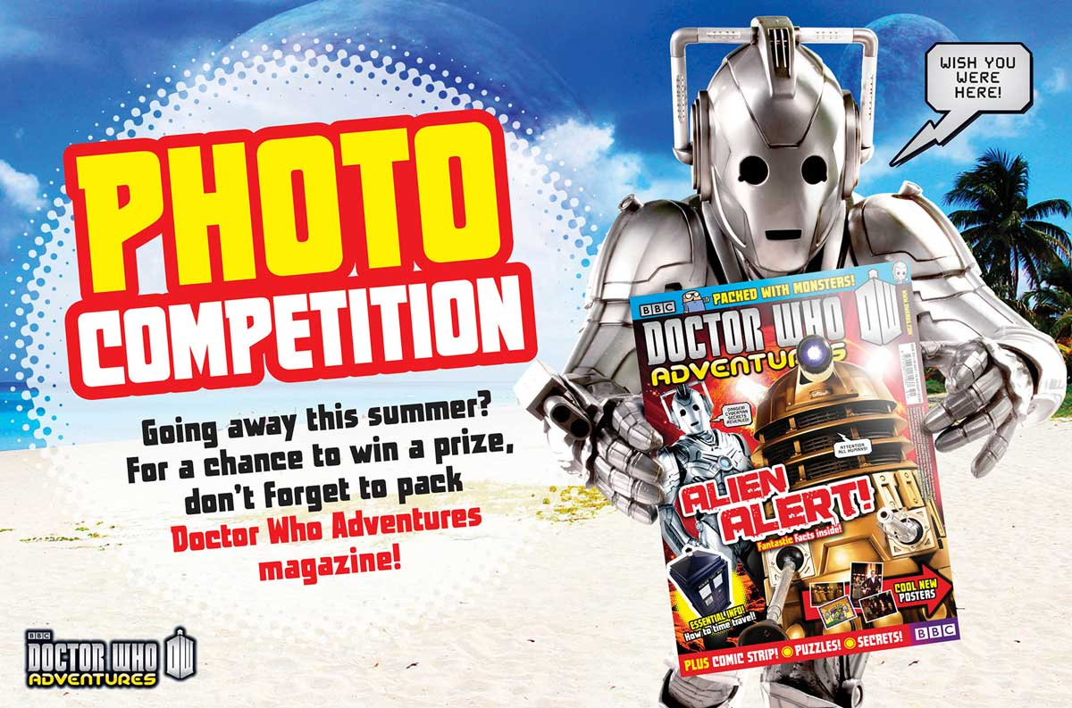 Doctor Who Adventures 351 - Competition