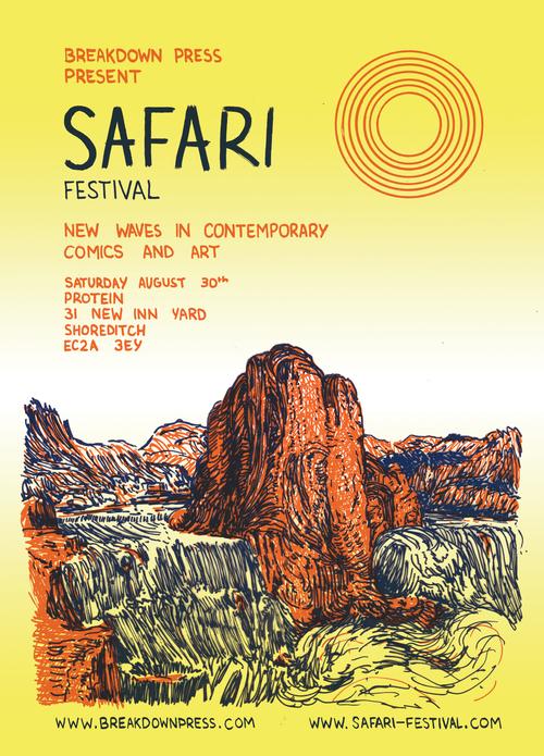 Safari Festival Poster