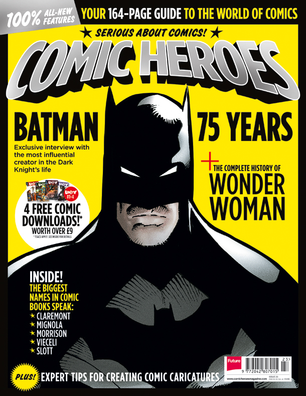 Comic Heroes Issue 23