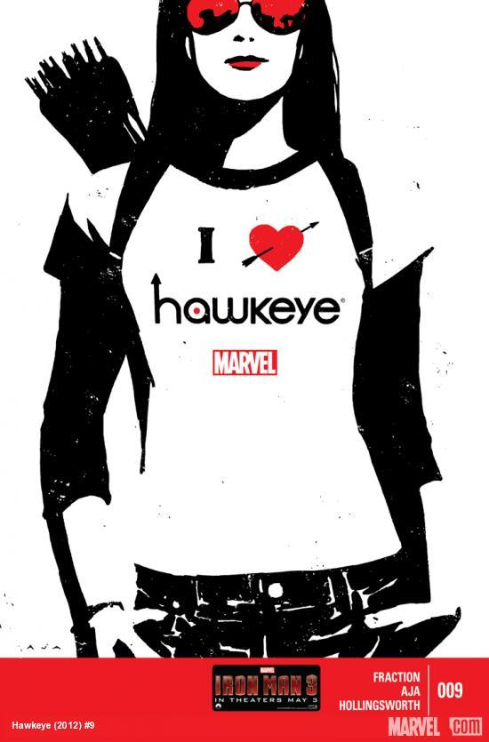 Hawkeye #9 Cover