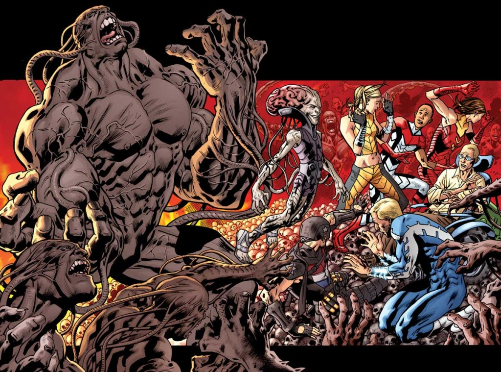 Real Heroes by Bryan Hitch