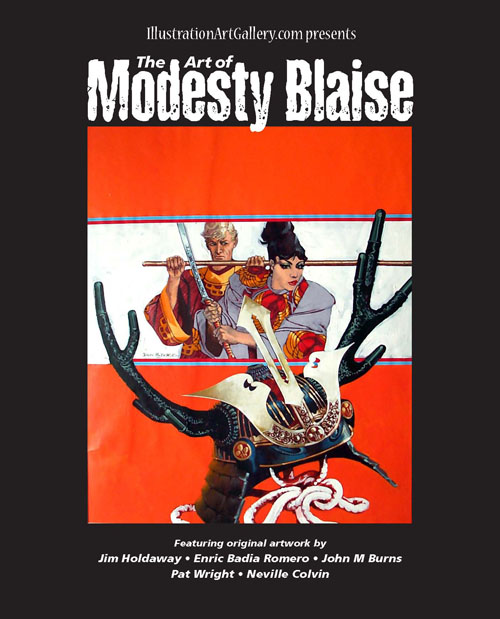 The Art of Modesty Blaise