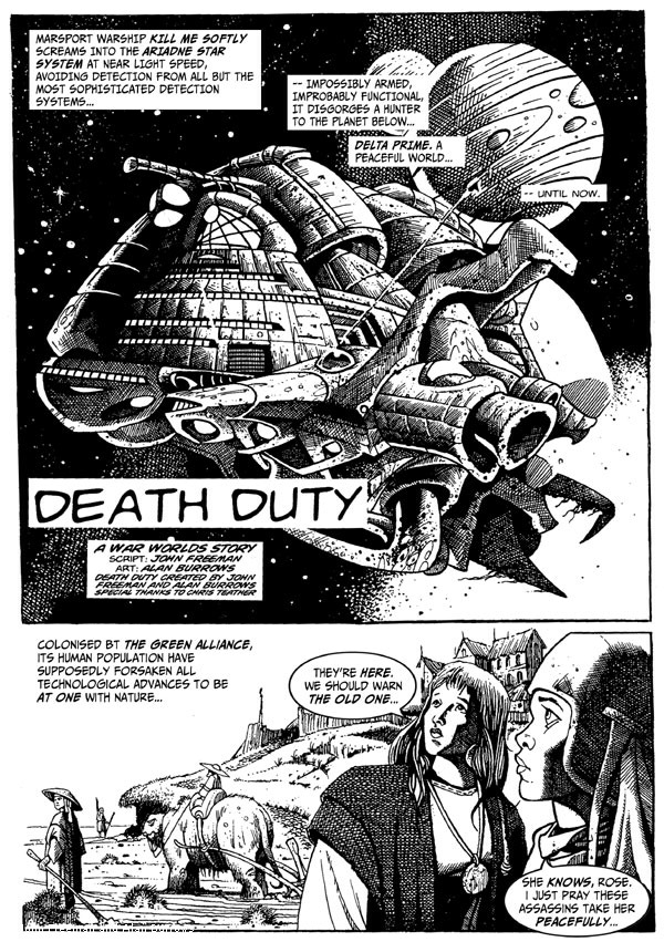 Death Duty Episode One - Page One