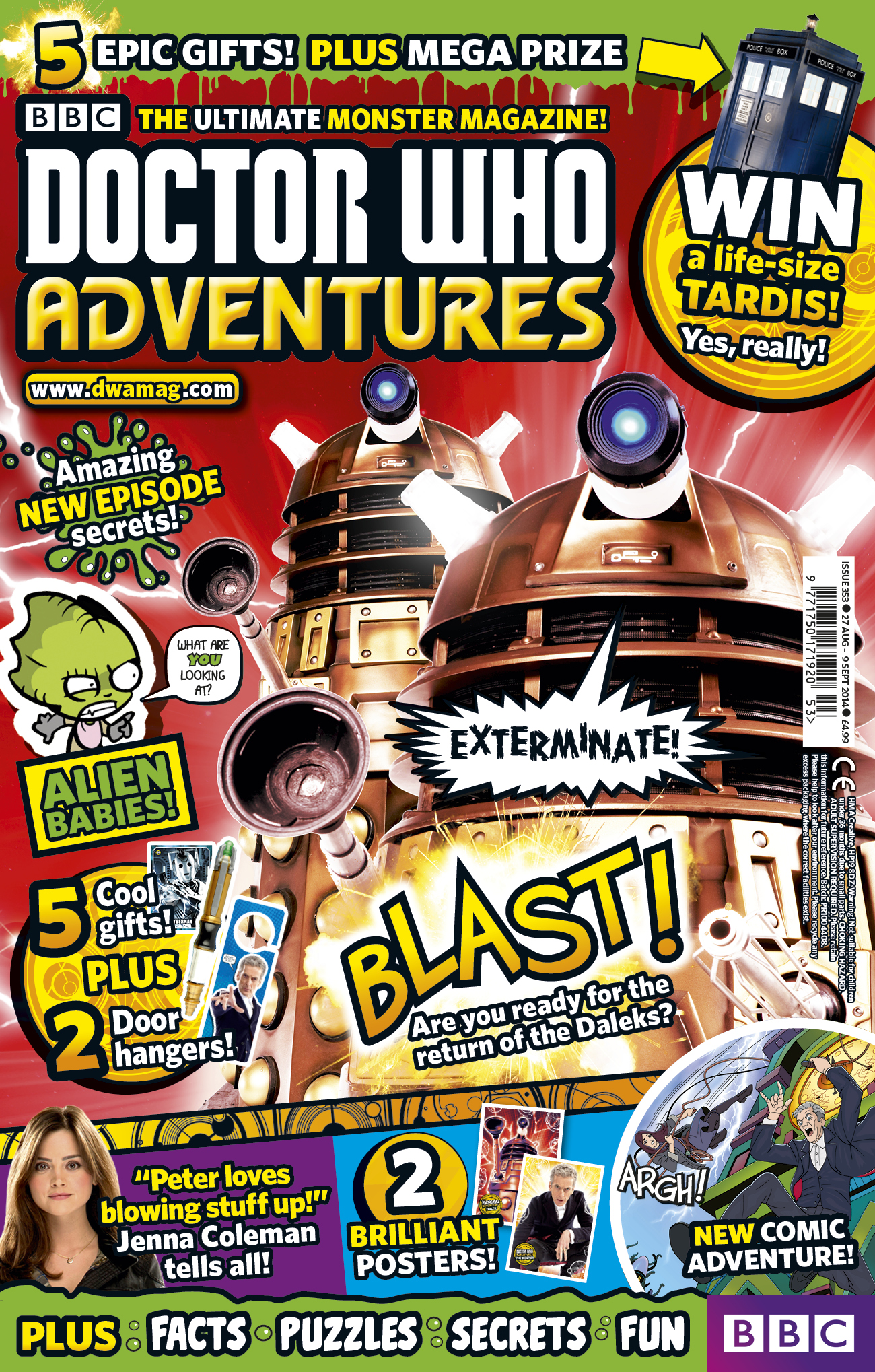 Doctor Who Adventures Issue 353