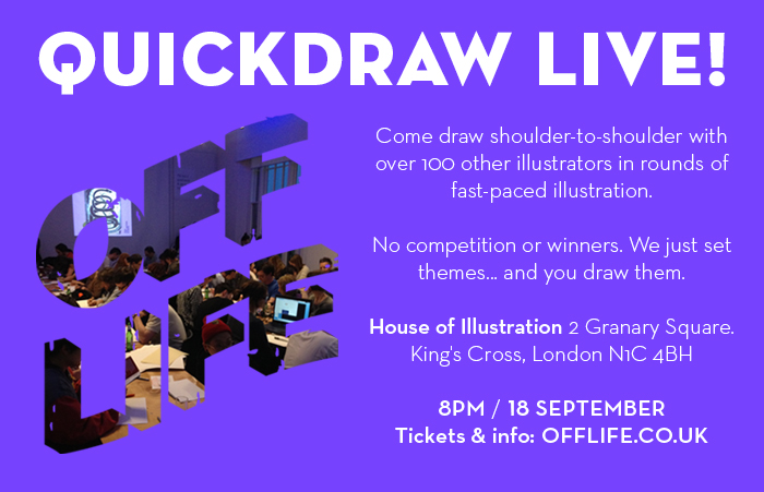 OFF LIFE House of Illustration Promotion