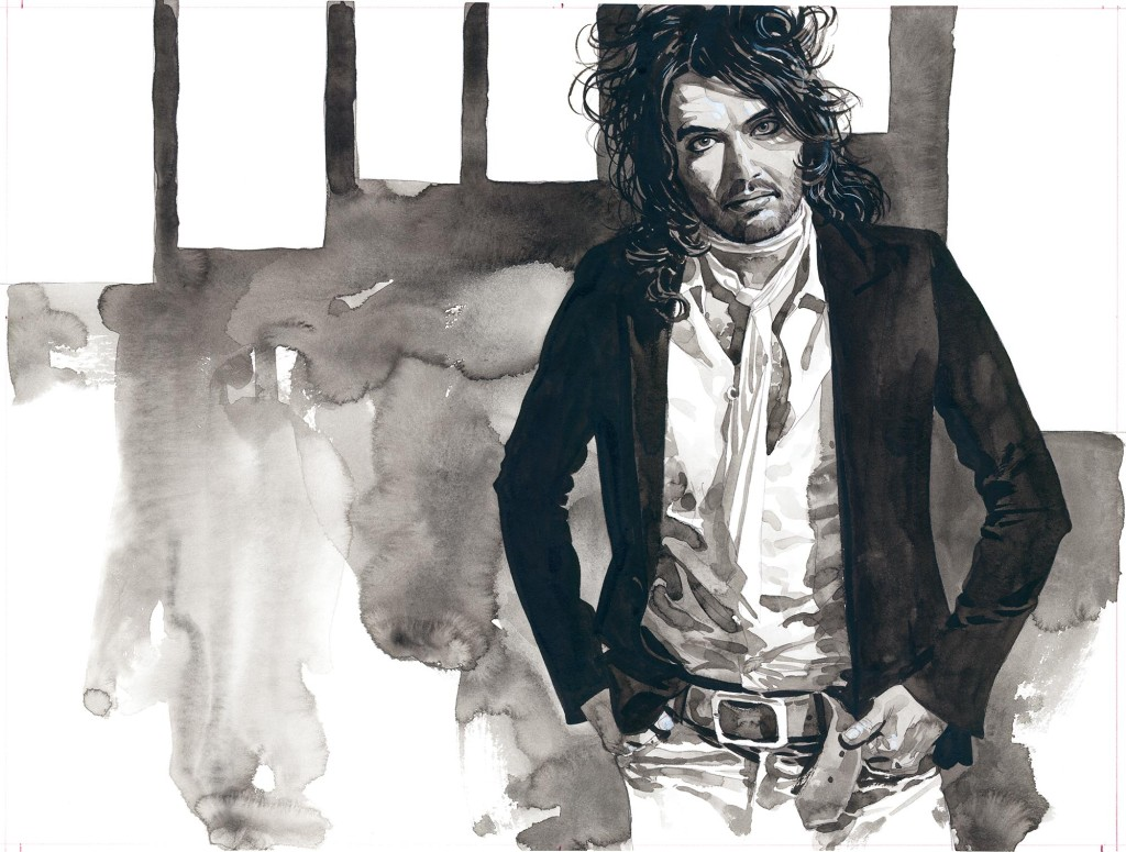 Russell Brand by Sean Phillips