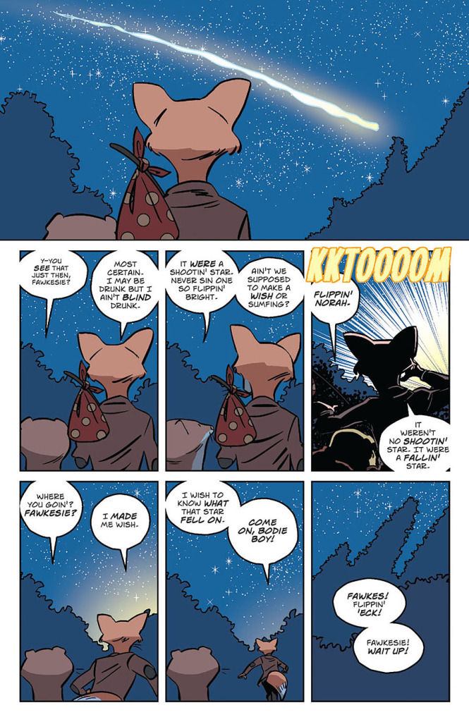 Wild's End #1 Sample Page 4