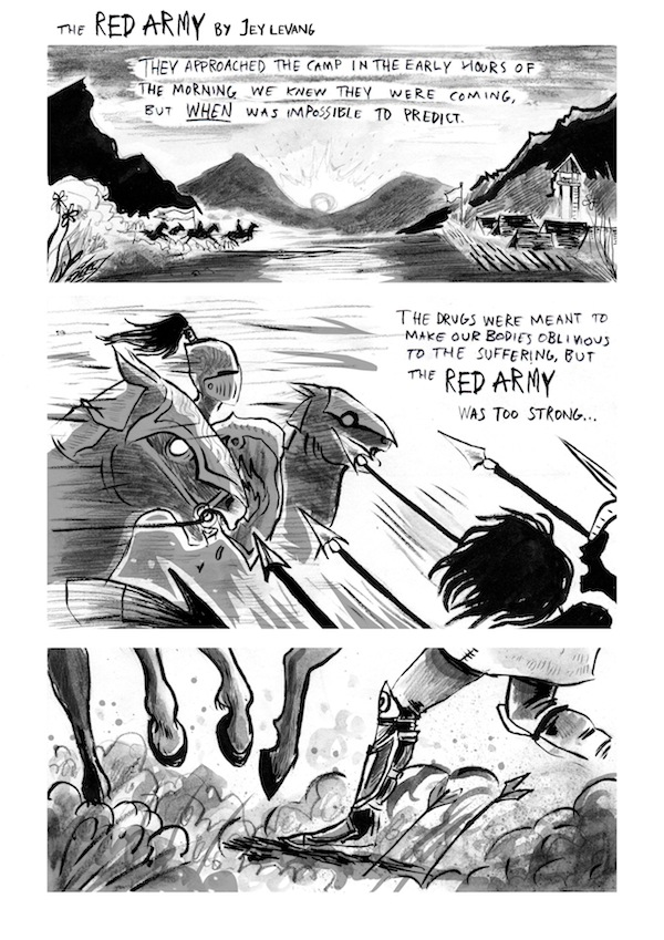 """Dirty Rotten Comics 3: """"The Red Army"""" by Jey Levang"""