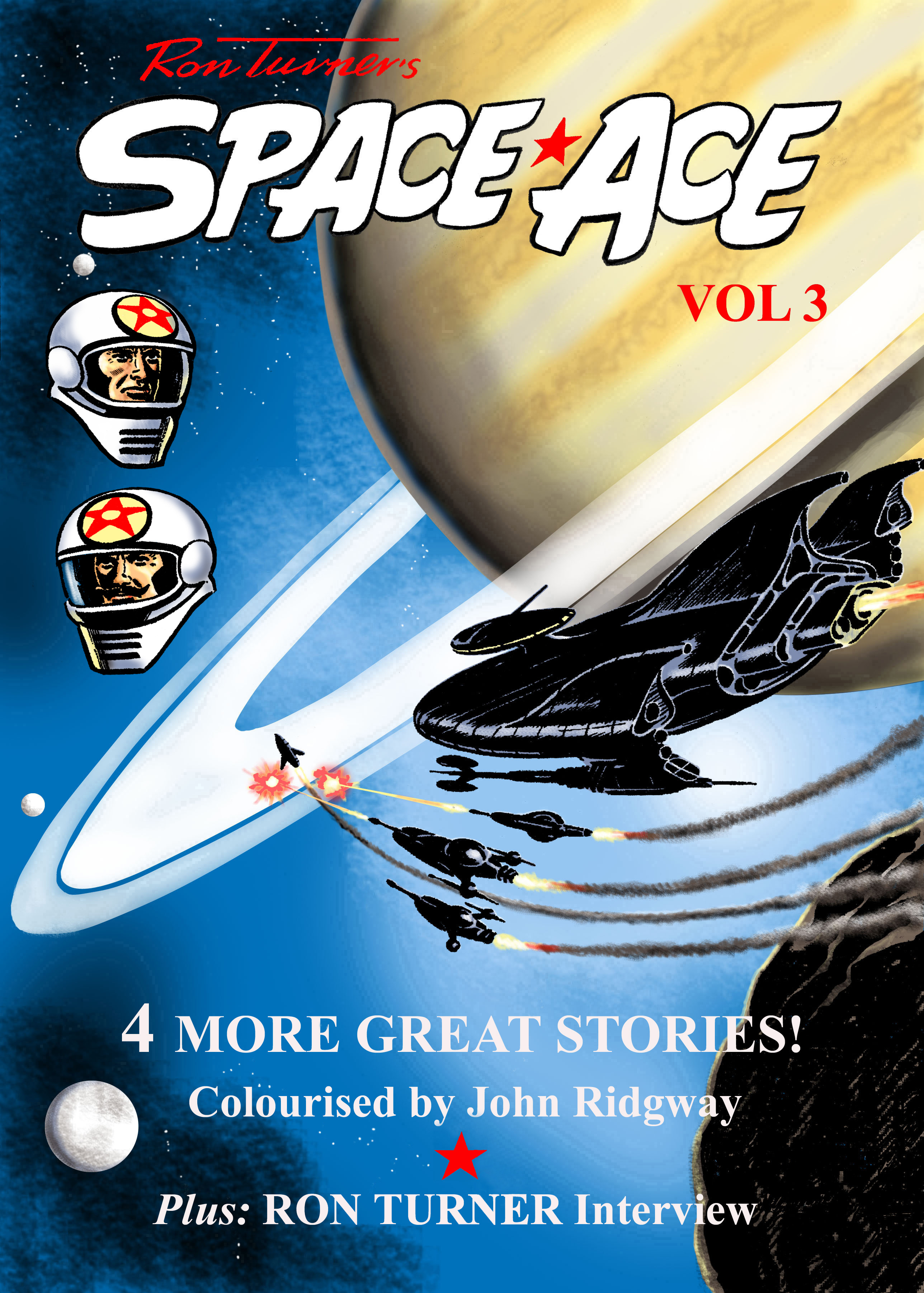Space Ace Volume 3 - Cover