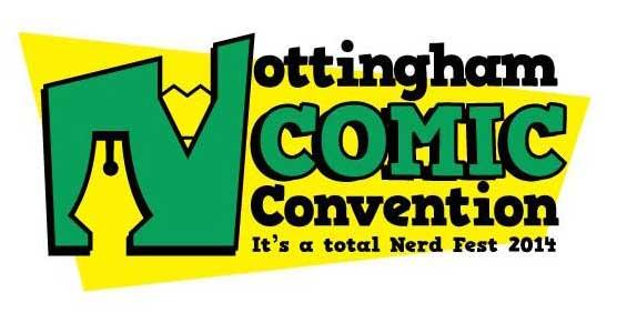 Nottingham Comic Con Logo