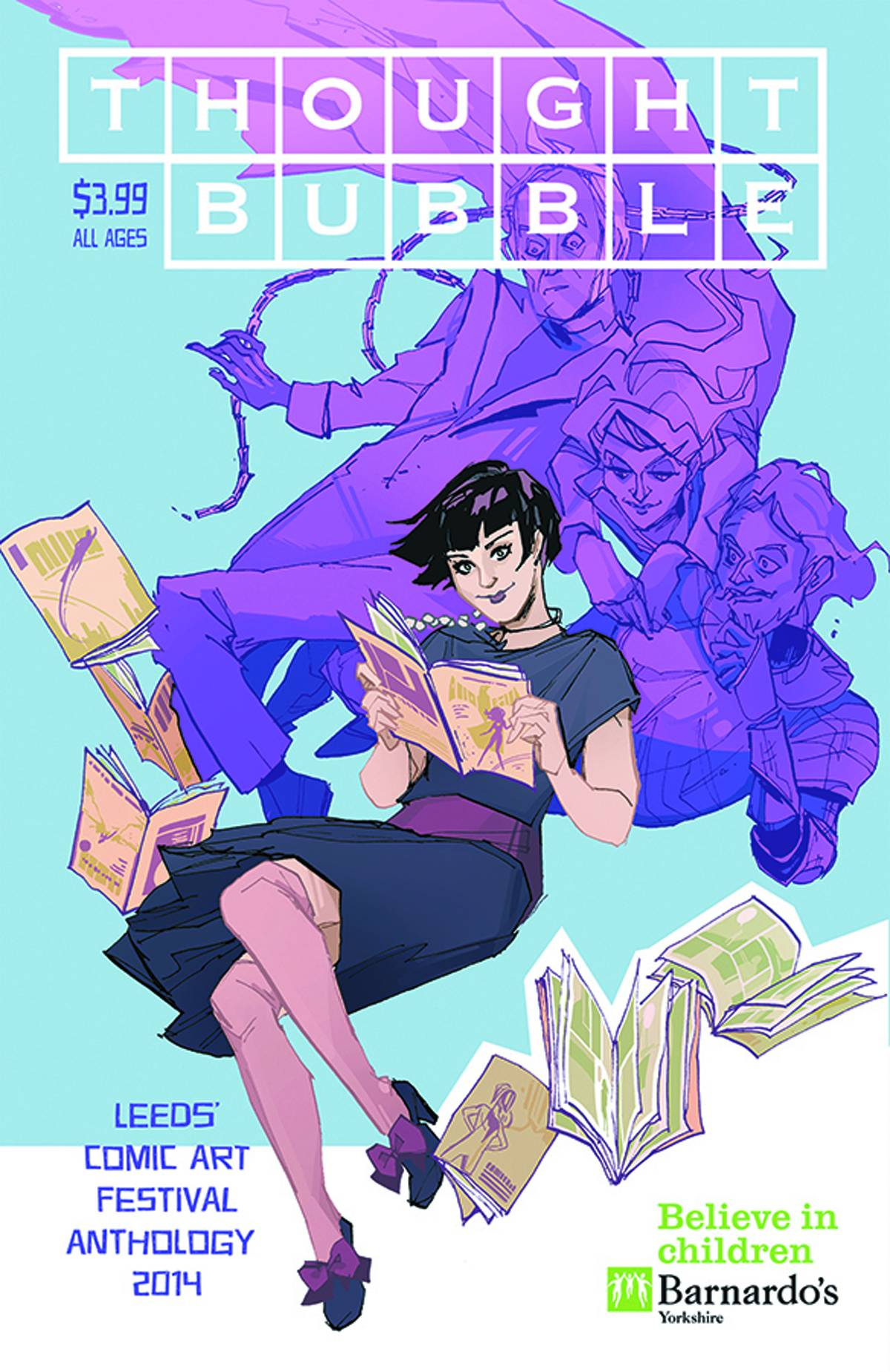 Thought Bubble Anthology 2014 - Cover