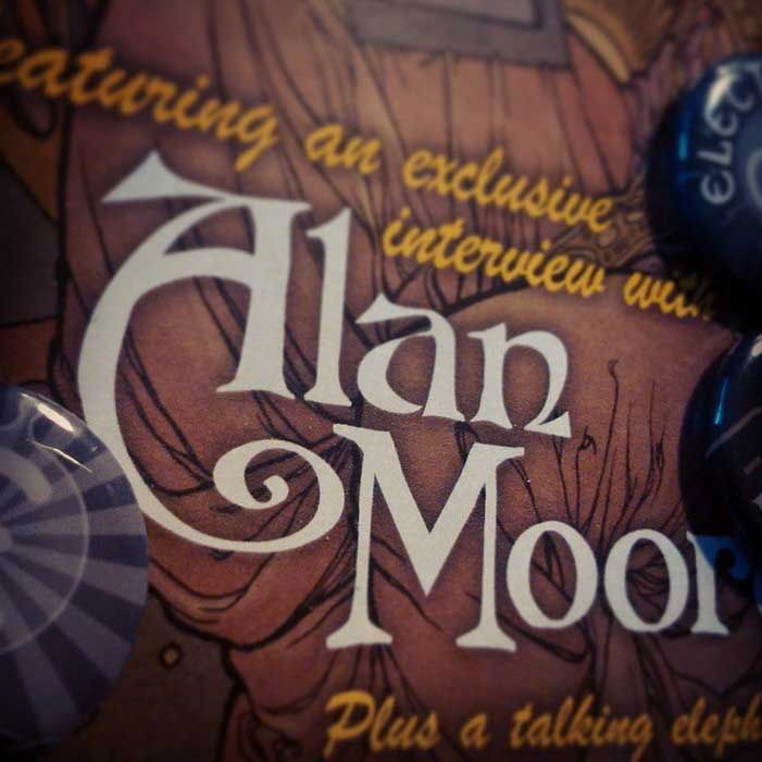 500 Things - Alan Moore