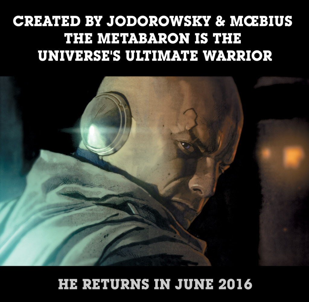 Metabaron 2016 - Advance Promo, November 2014