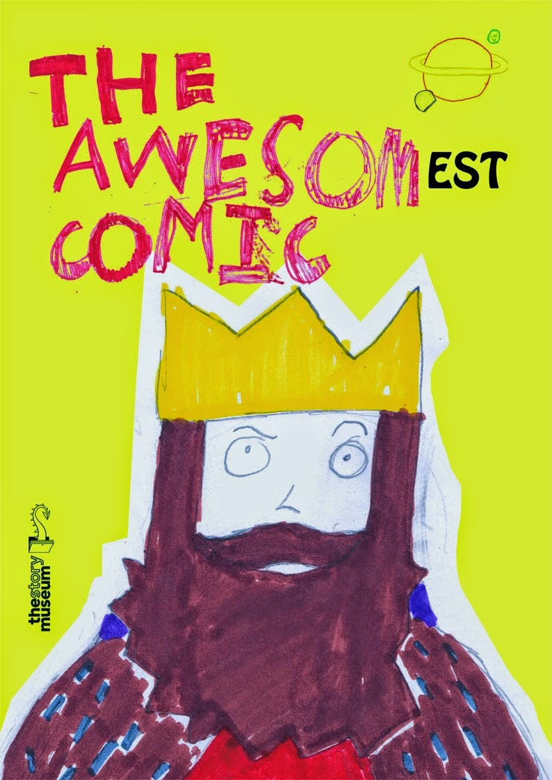 Awesomest Comic - Front Cover