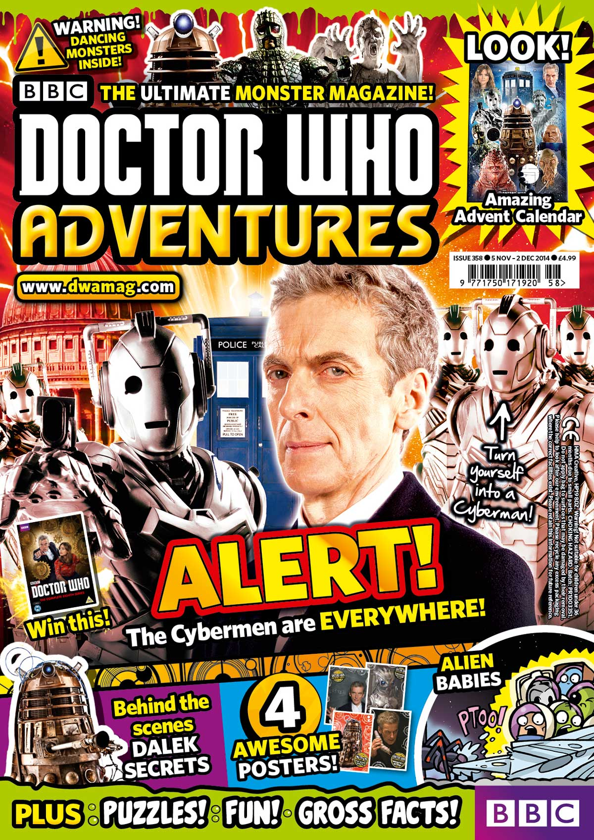 Doctor Who Adventures 358 Cover