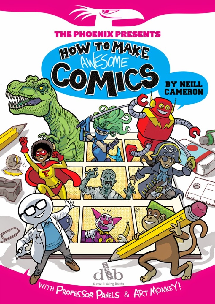 How to Make Awesome Comics Cover
