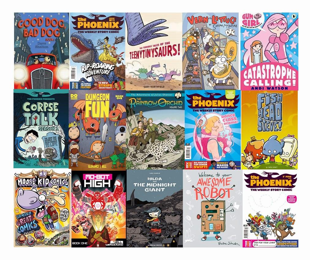 Comics and Literacy - Awesome Comics