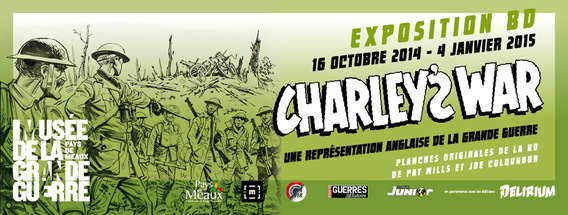 Exposition BD: Charley's War - Museum of the Great War