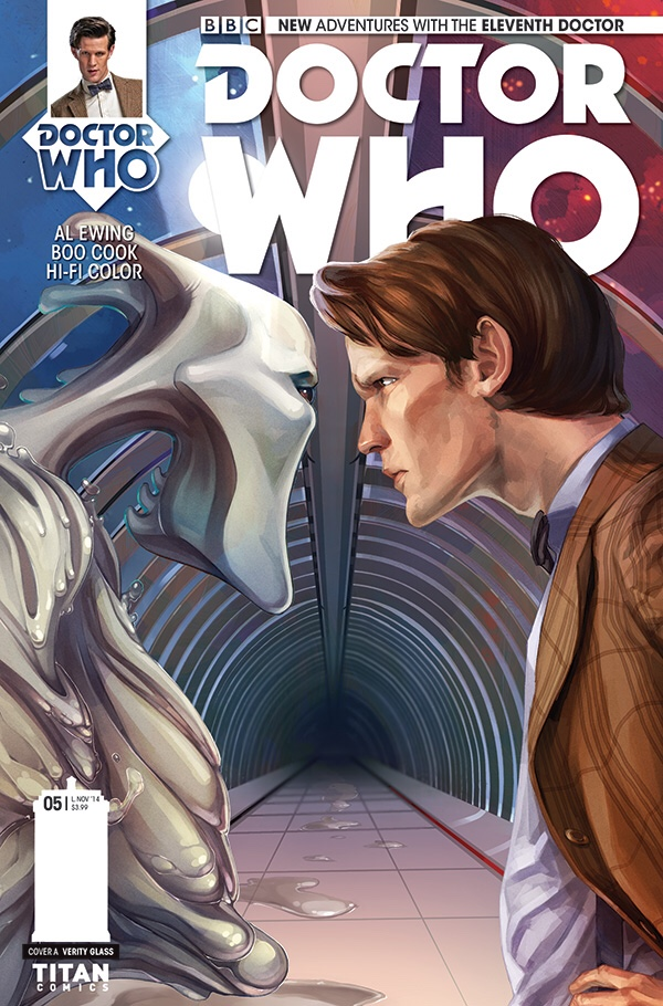 Doctor Who 11 Issue 5 - Cover