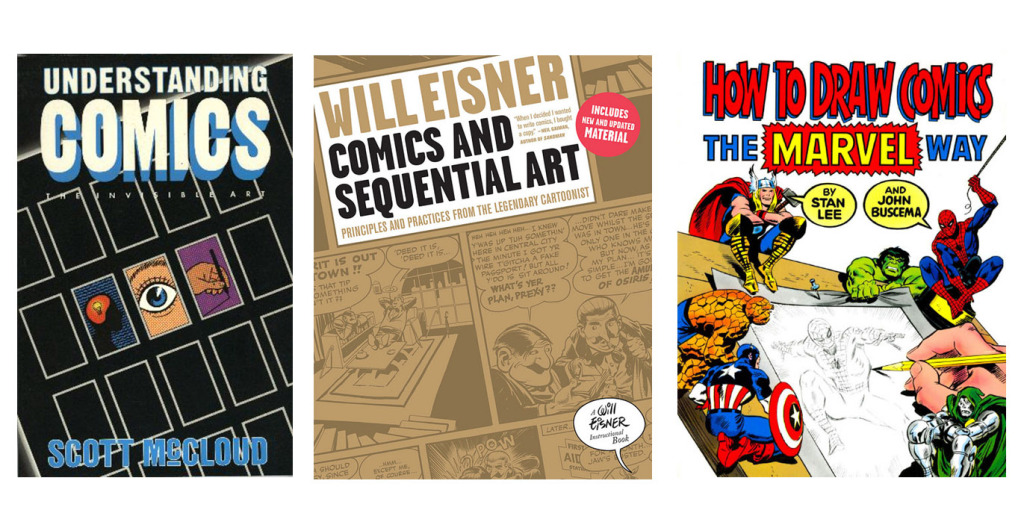 Creating Comics - Suggested Books