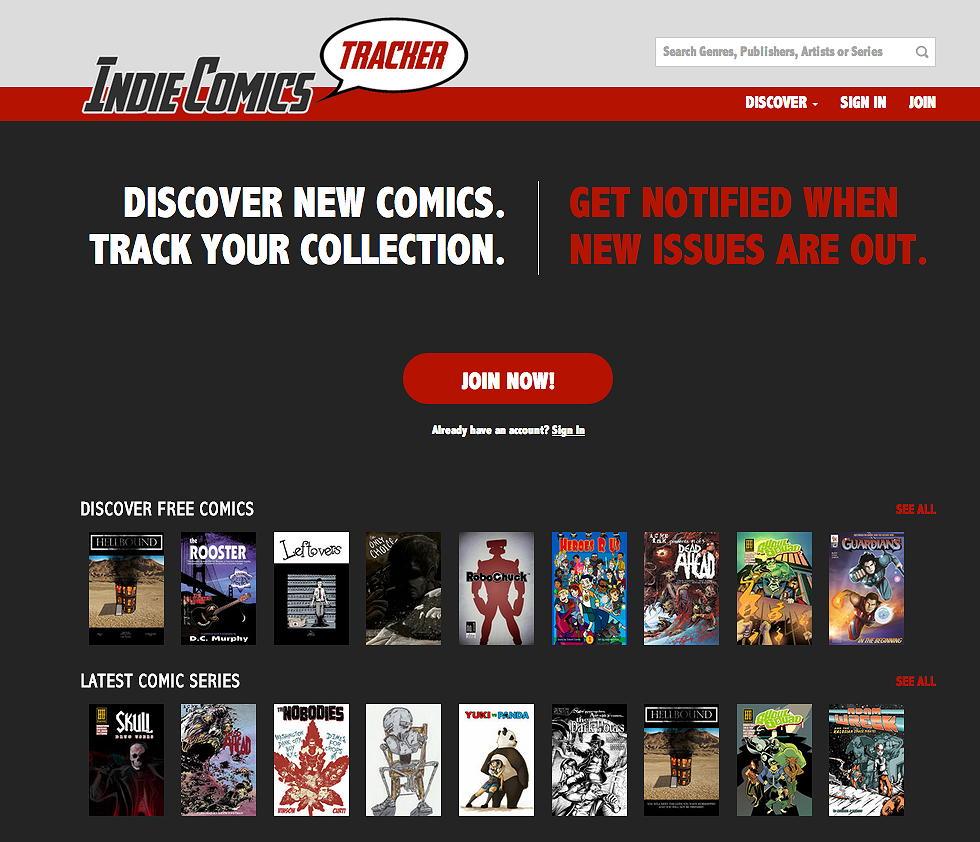 Indie Comics Tracker Screenshot
