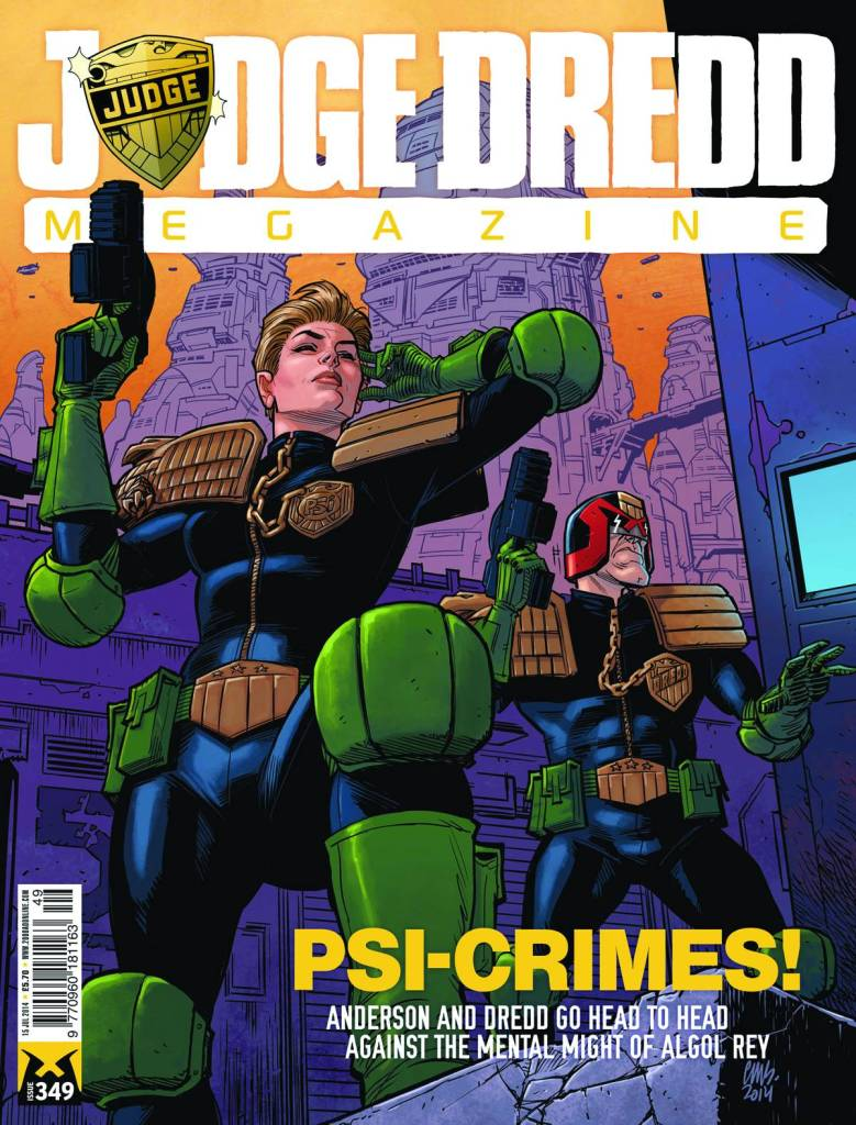 Judge Dredd Megazine 353 - Cover