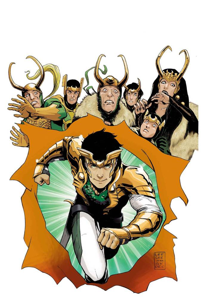 Loki, Agent of Asgard #8 - Cover