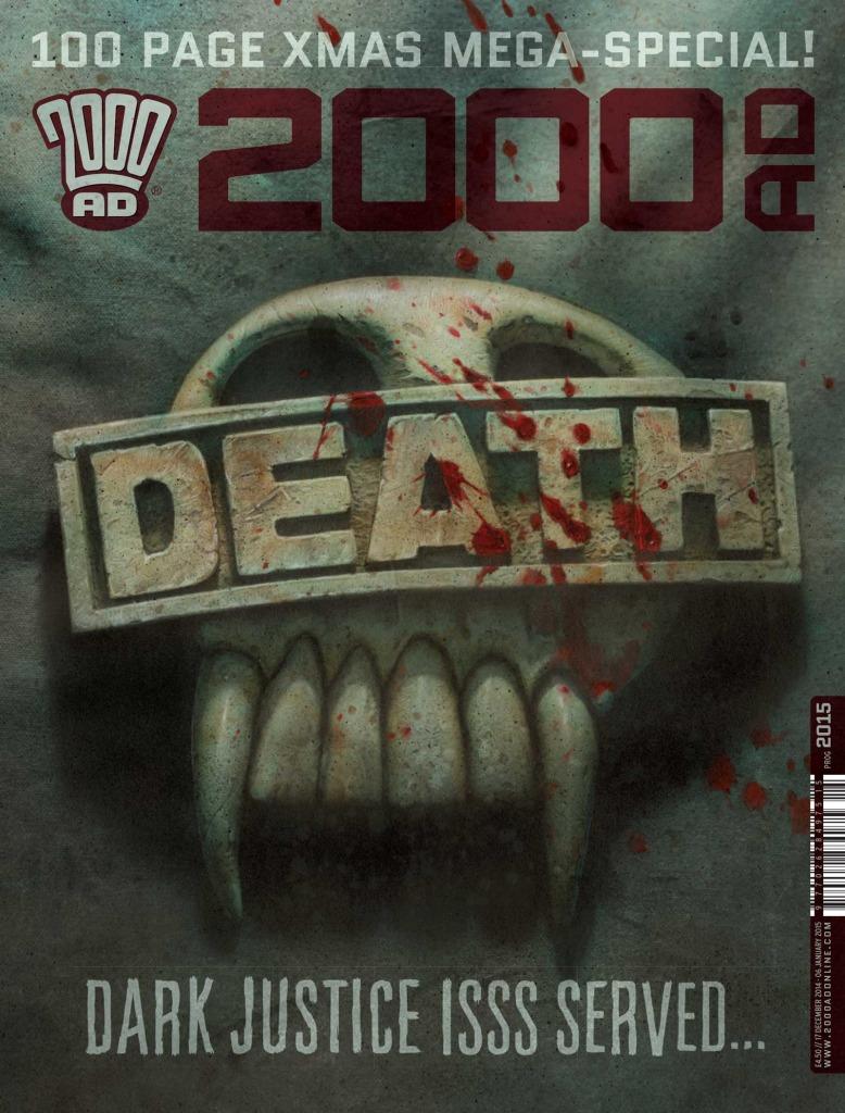 2000AD Prog 2015 - Cover