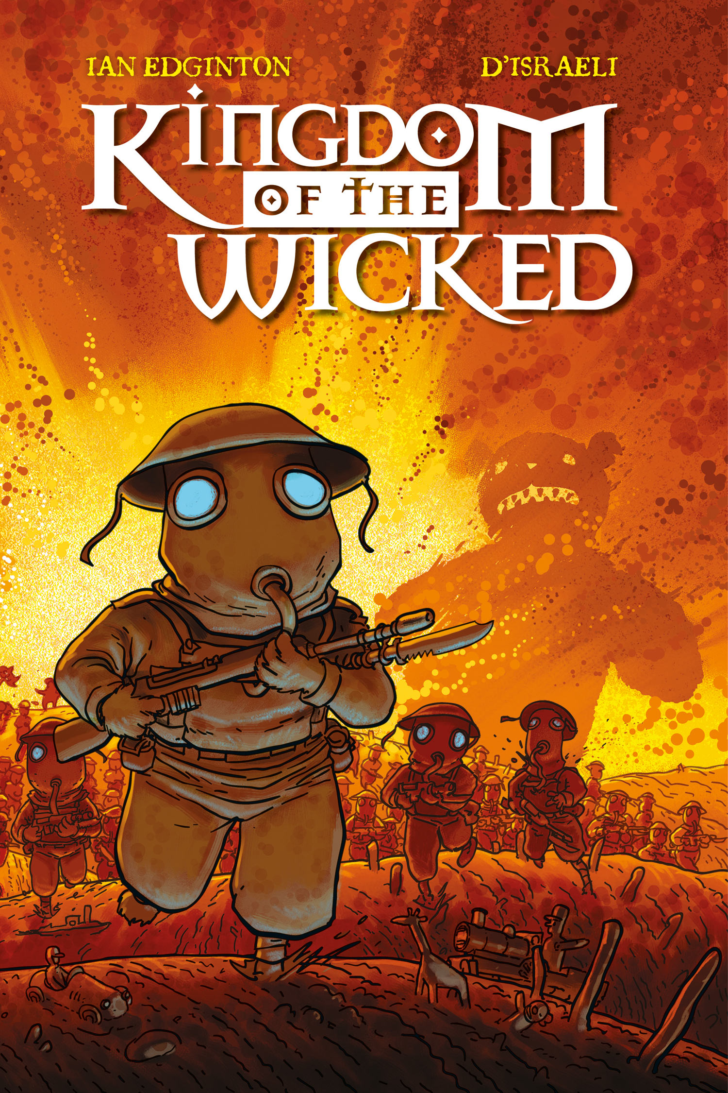 Kingdom of the Wicked - Cover