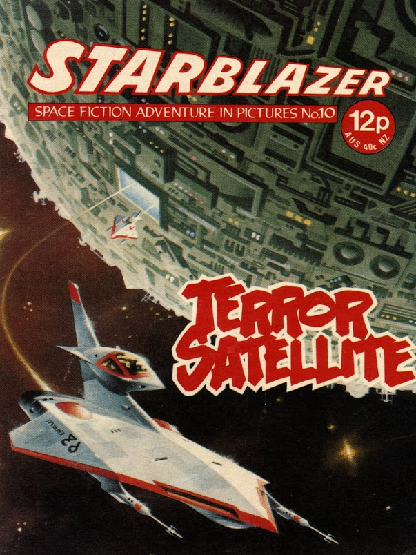 Starblazer Issue 10 - Cover