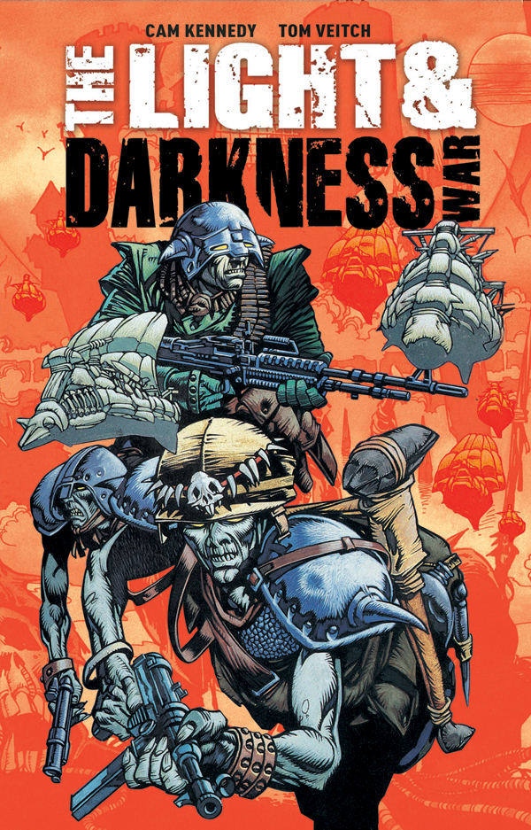 Light and Darkness War - Titan Cover