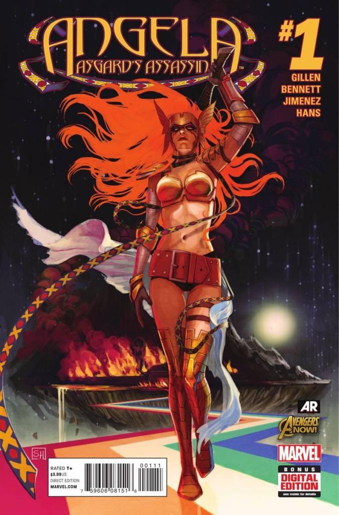 Angela: Asgard's Assassin #1 - Cover