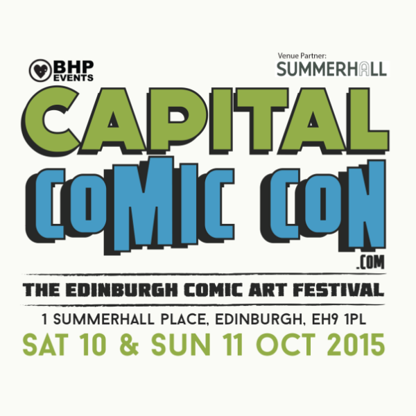 Capital Comic Con - Edinburgh - 2015