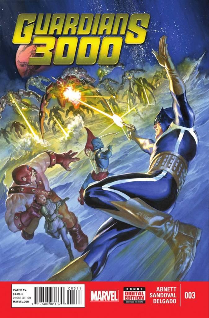 Guardians 3000 #3 - Cover