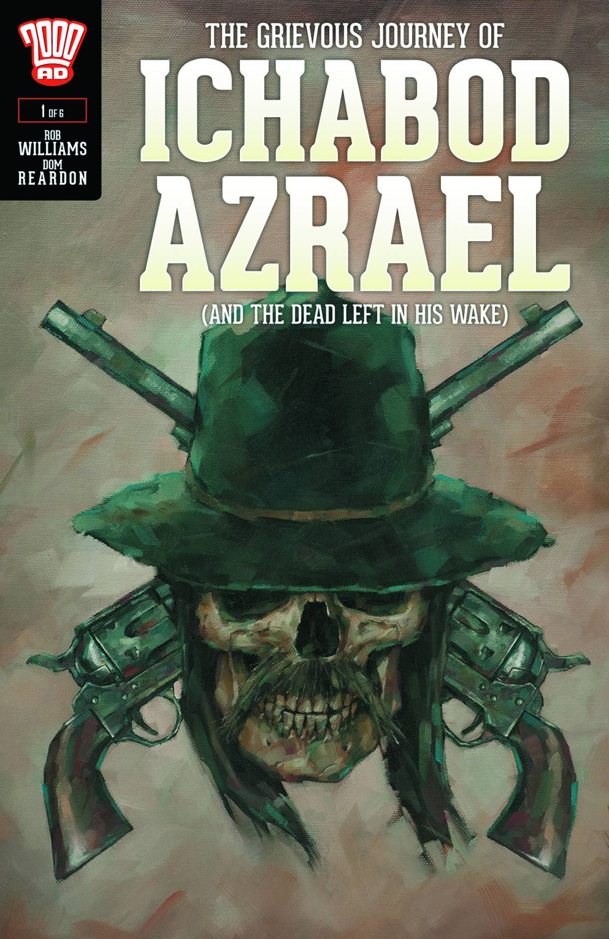 Ichabod Azarael 1 - Cover