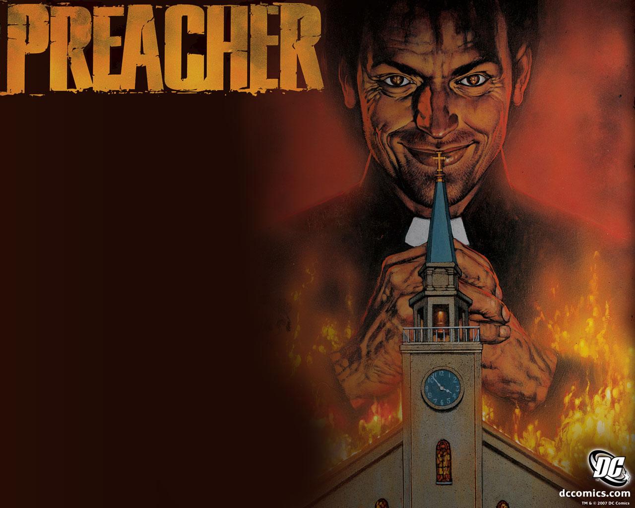 Preacher Wallpaper