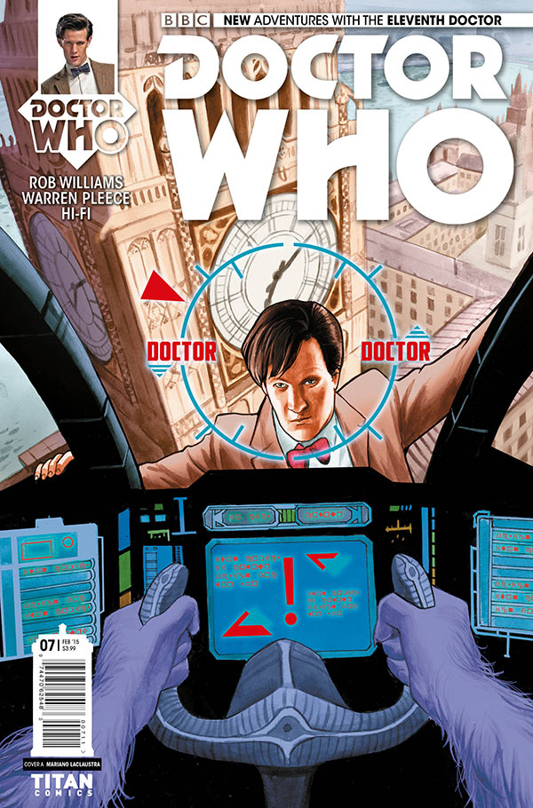 Doctor Who: The Eleventh Doctor #7 Cover A
