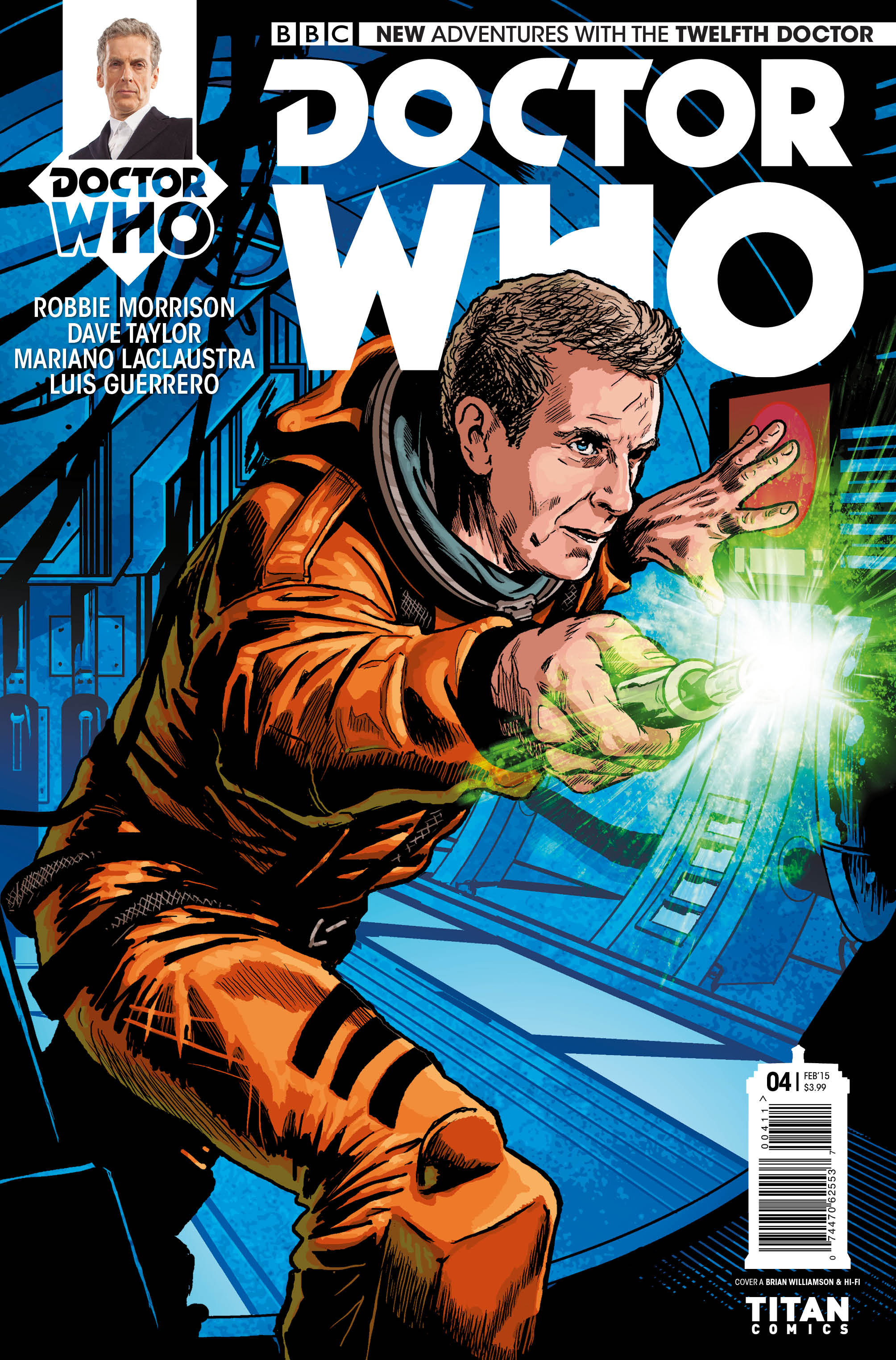 Doctor Who: The Twelfth Doctor #4 - Cover A