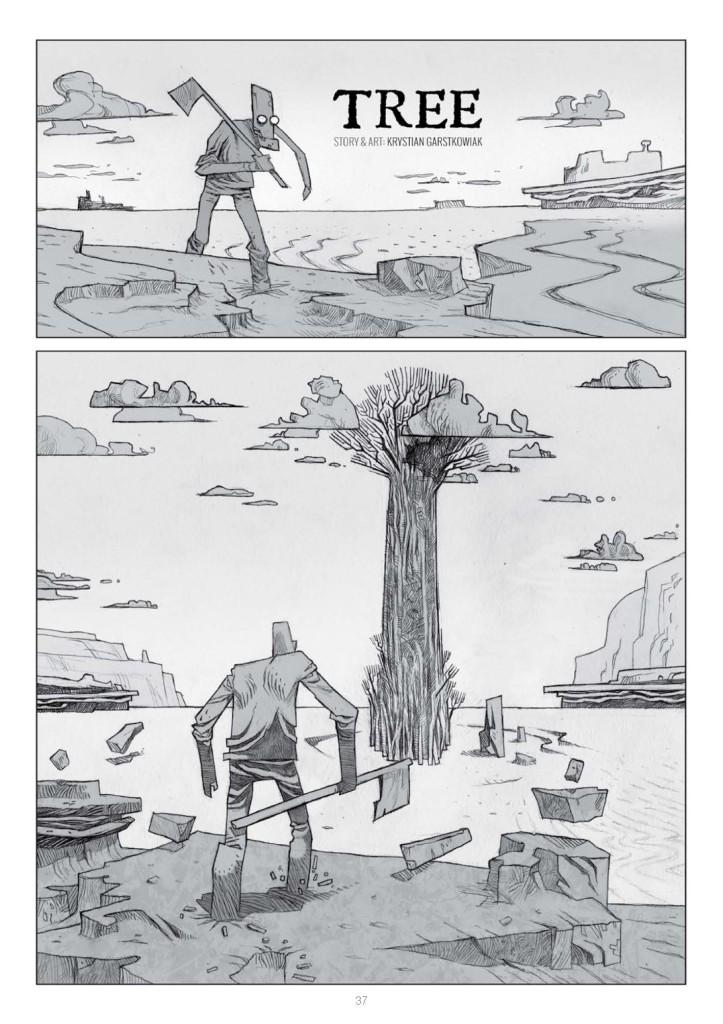 "The opening page of ""Tree"" by Krystian Garstkowiak"