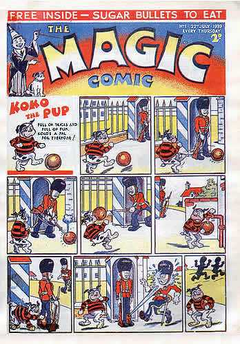 Magic Comic Issue 1