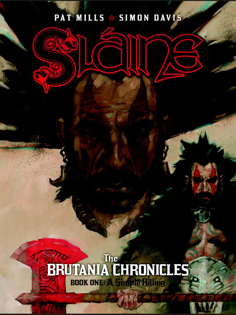 Slaine: The Brutania Chronicles - Cover