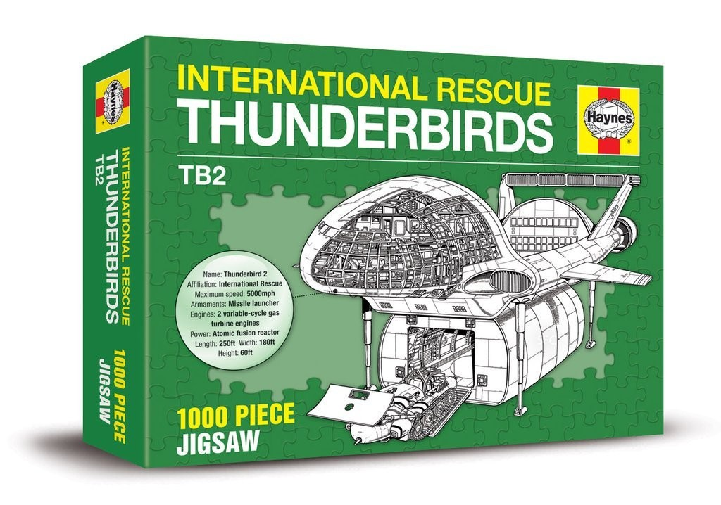 Thunderbirds Haynes Jigsaw