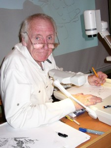 John Cooper at the Raptus convention in Bergen in 2003.