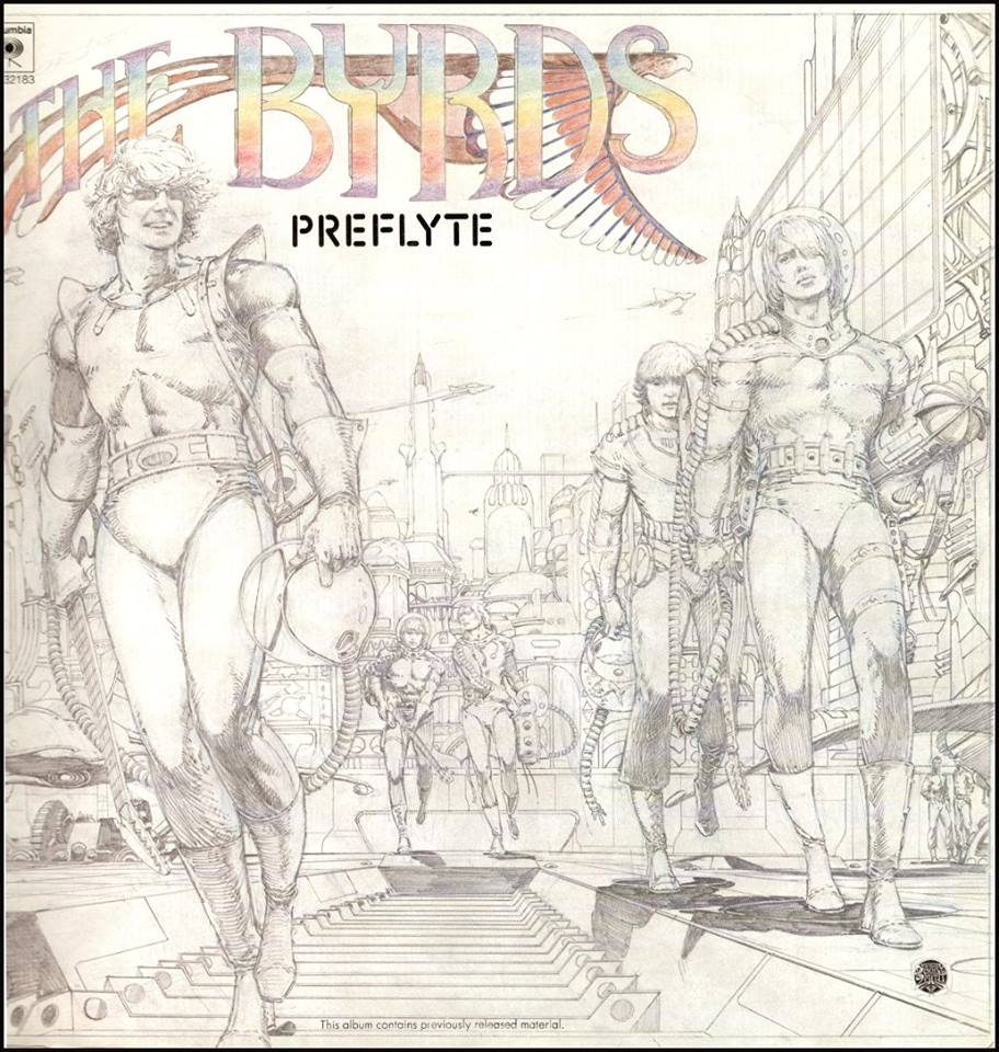 Barry Windsor Smith: Preflyte by The Byrds