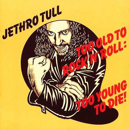 Dave Gibbons Jethro Tull album cover