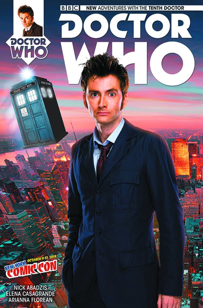 Doctor Who: Tenth Doctor #1 NYCC Exclusive