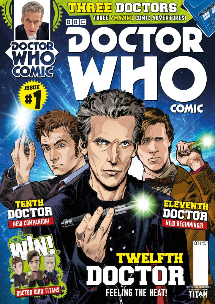 Doctor Who Comic Issue 1 - Titan