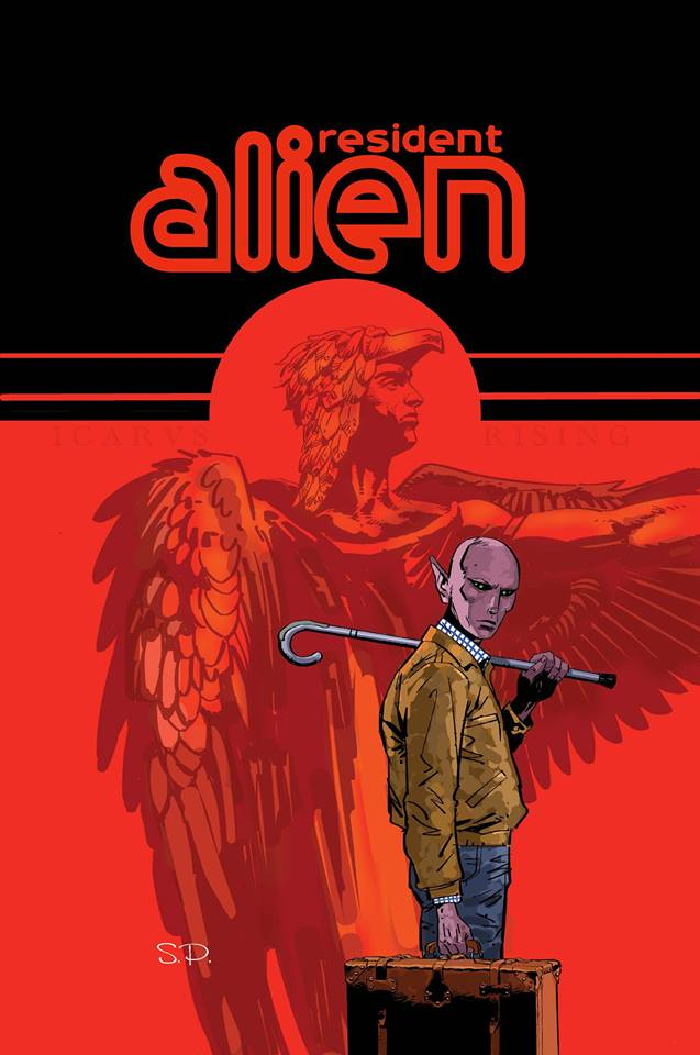 Resident Alien: The Sam Hain Mystery art by Steve Parkhouse